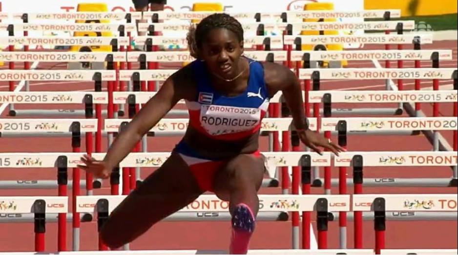 Cuban Rodriguez leads pentathlon in World indoors after three events