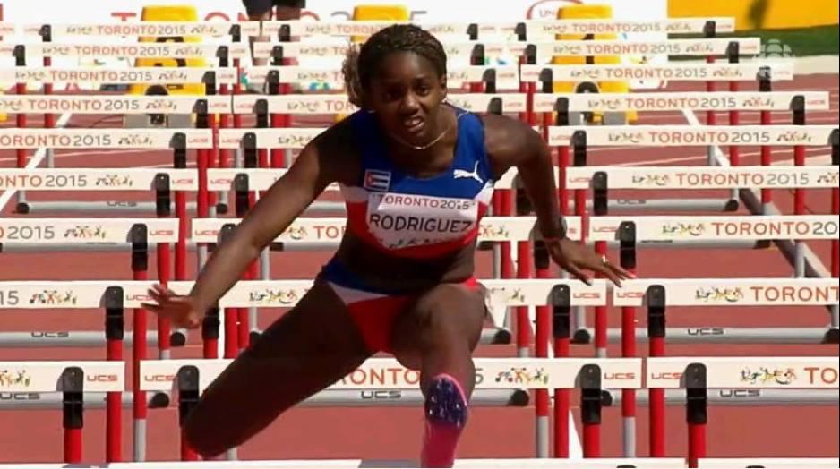 Cubana Yorgelis Rodríguez lidera clasificación en Pentatlón del Mundial de Atletismo